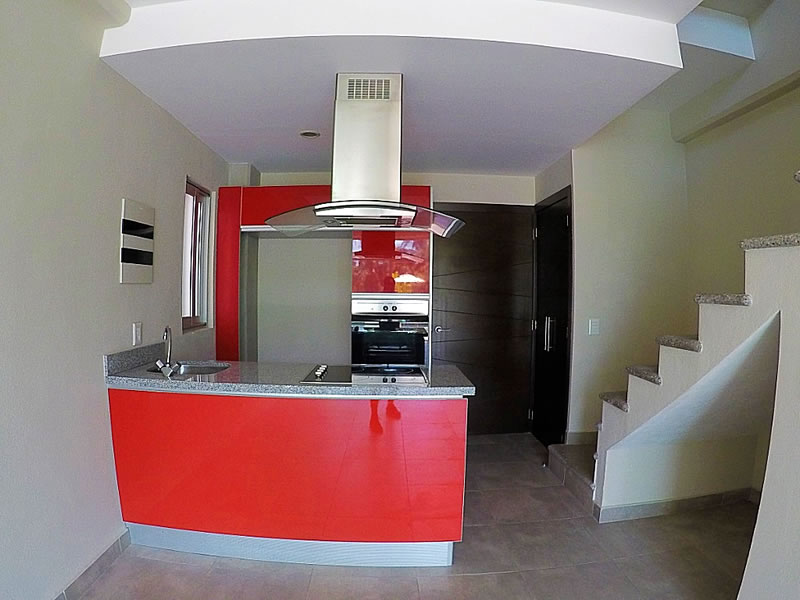 Cocina Condominio 3.14 Living Plaza Nuevo Vallarta en venta