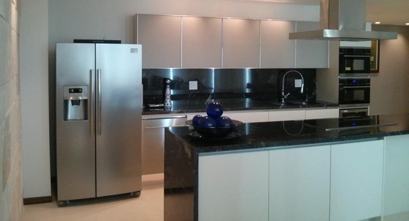 Cocina Condominio Peninsula en Nuevo Vallarta