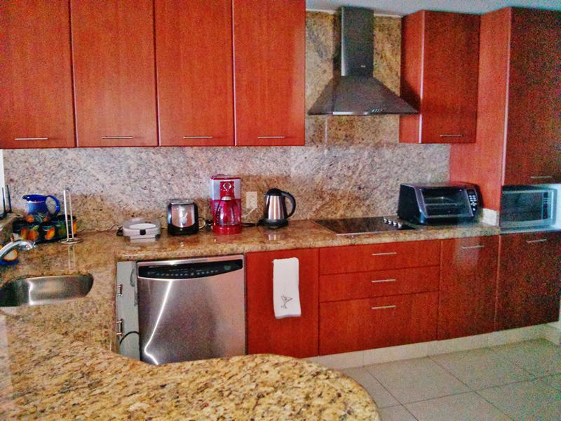 Cocina Condominio Villa Magna Nuevo Vallarta con Estudio Penthouse