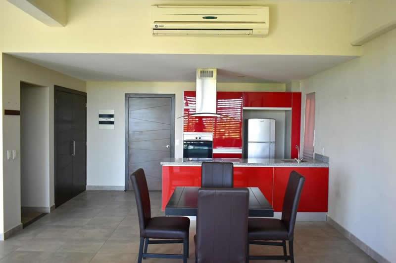 Cocina Integral Departamento en venta Nuevo Vallarta 3.14 Living