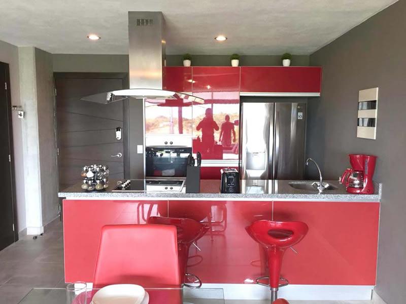 Cocina equipada Departamento en Venta Nuevo Vallarta Nayarit 3.14 Living