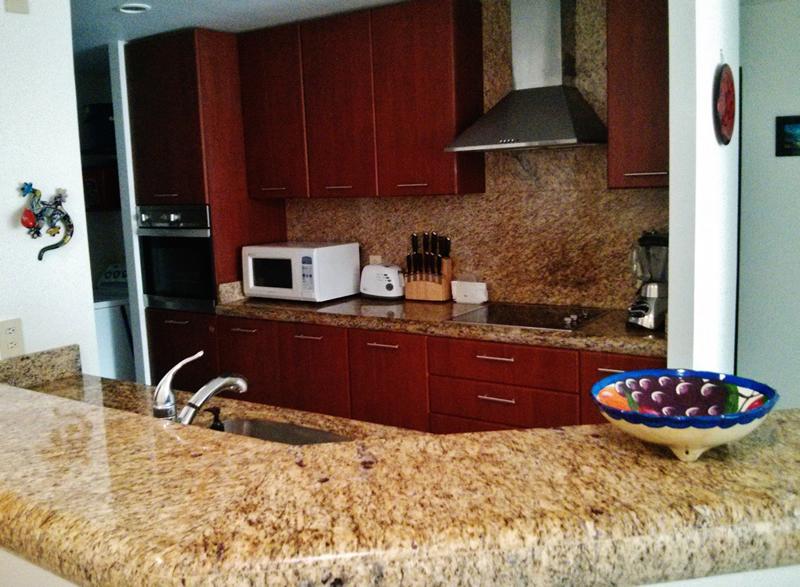 Cocina integral Condominio Villa Magna Nuevo Vallarta