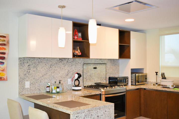 Cocina integral Delcanto Condominio Nuevo Vallarta