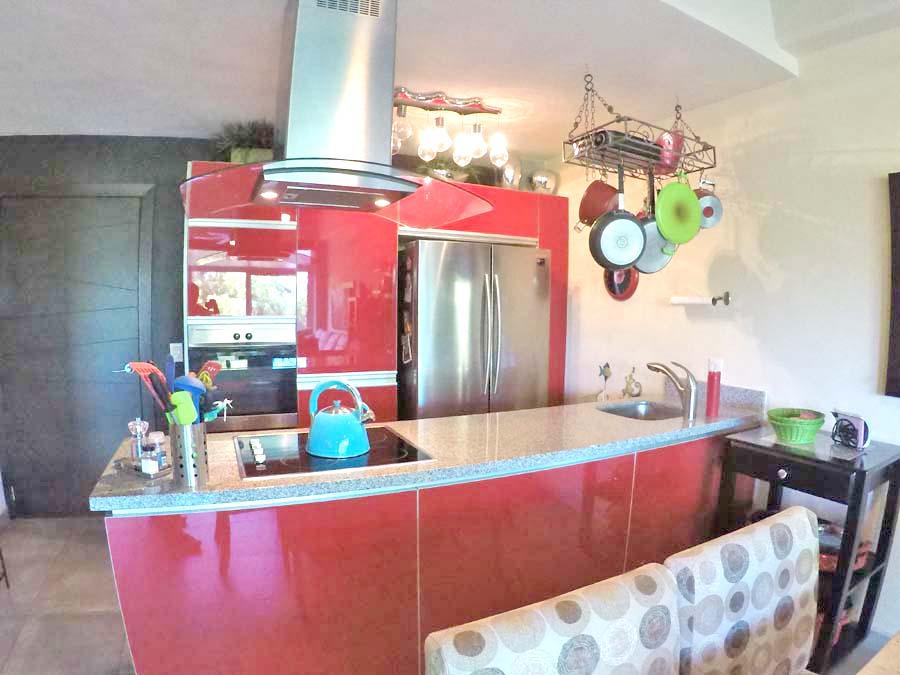 Cocina integral Departamento en venta 3.14 Living Plaza Nuevo Vallarta