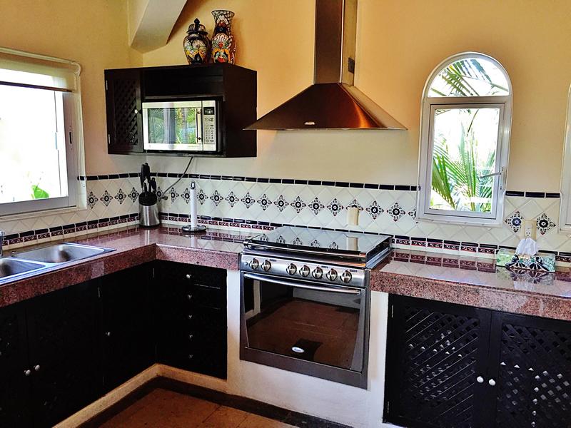 Cocina integral Villa en bucerías Nayarit Lanigan