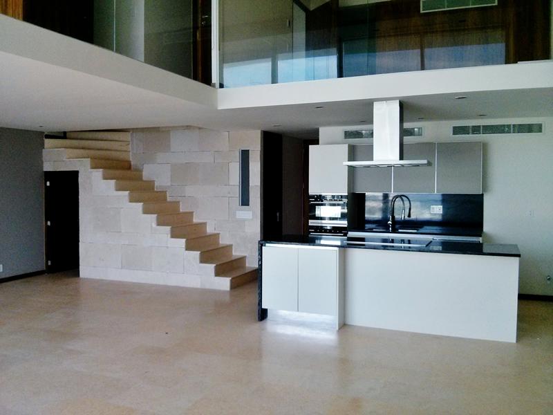 Cocina Penthouse en Condominio Península Nuevo Vallarta