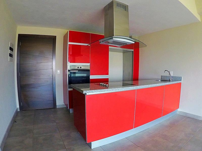 Cocina Penthouse en Venta Nuevo Vallarta en Condominio 3.14 Living