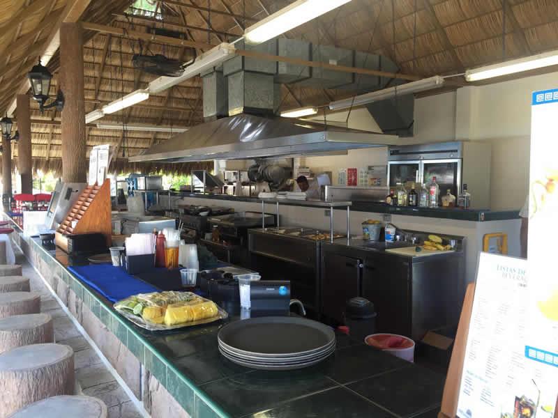 Cocina playa Paradise Village El Tigre Golf Country Club Nuevo Vallarta
