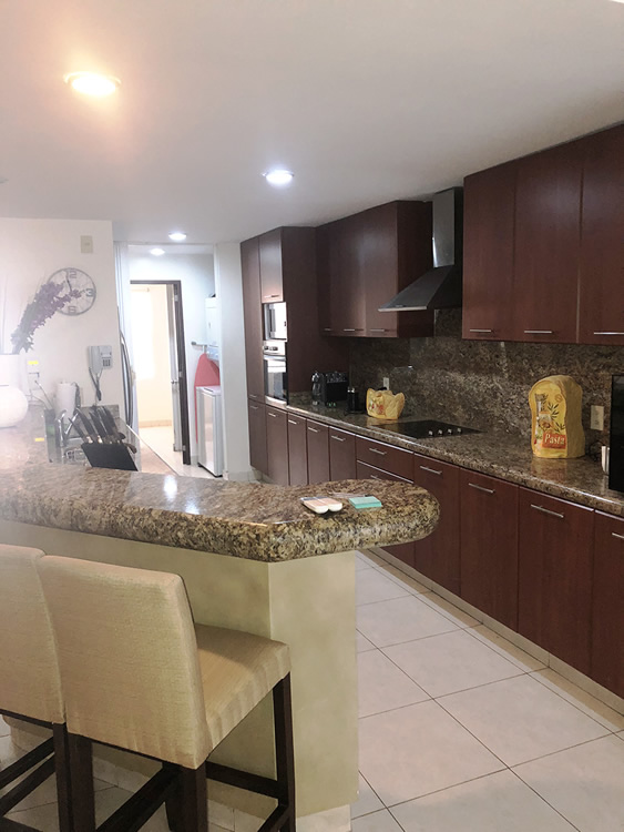 Cocina Residencial Villa Magna Nuevo Vallarta Departamento en Venta