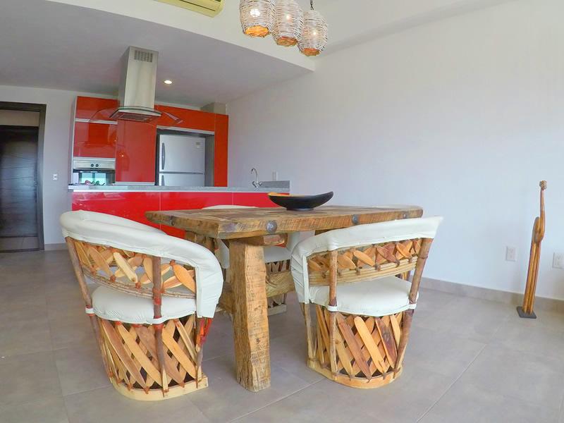Comedor Apartamento en Venta 3.14 Living Nuevo Vallarta Nayarit