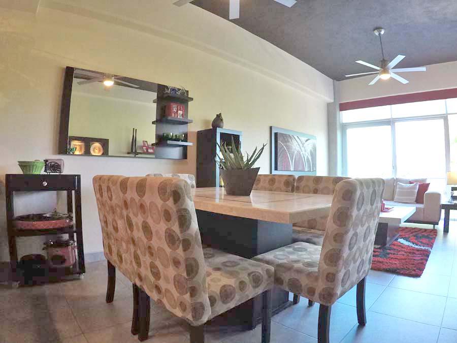 Comedor Departamento en venta 3.14 Living Plaza Nuevo Vallarta