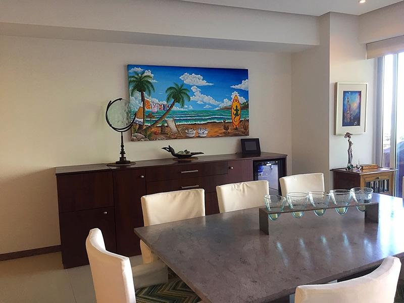Comedor Condominio en Venta Península Nuevo Vallarta Nayarit México Desarrollo Habitacional