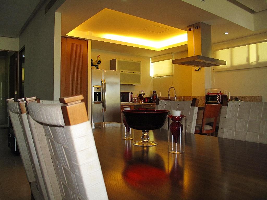 Comedor y cocina Desarrollo Península Golf Condominio en venta, El Tigre, Nuevo Vallarta, Nayarit, México
