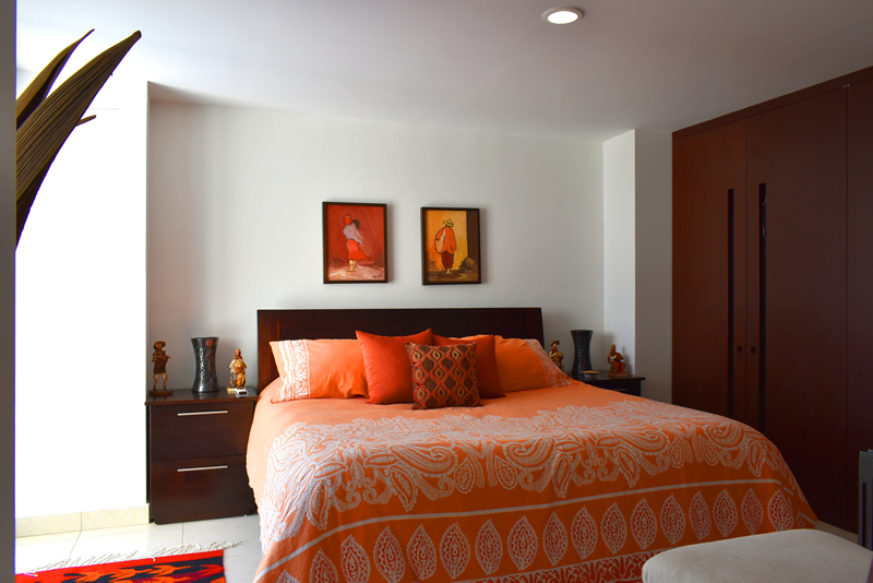 Dormitorio Condominio con vista al Mar en Venta Villa Magna Nuevo Vallarta