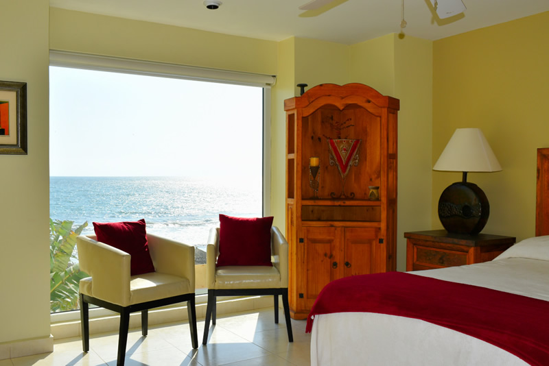 Cuarto VillaMagna Nuevo Vallarta Condominio amueblado con vista al Mar