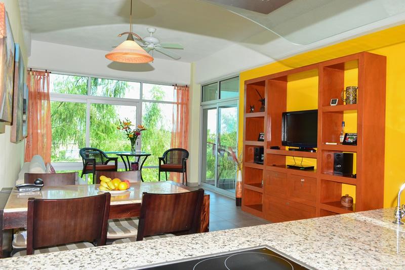 Decoración Condominio amueblado en venta Living 3.14 Nuevo Vallarta
