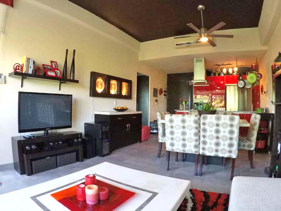 Decoración Departamento en venta 3.14 Living Plaza Nuevo Vallarta