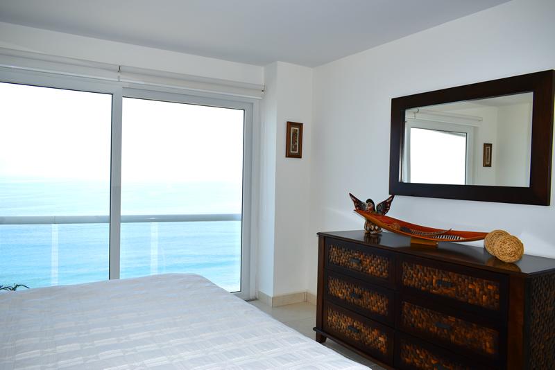 Decoración habitación Condominio con vista al Mar en Venta Villa Magna Nuevo Vallarta