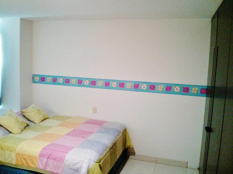Decoración recámara Condominio Villa Magna Nuevo Vallarta