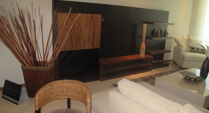 Decoracion sala Condominio Península Golf en Nuevo Vallarta