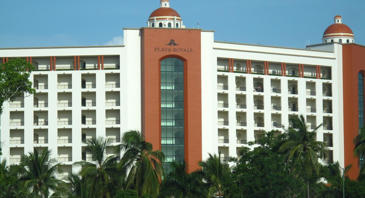 Edificio Condominio Playa Royale en Nuevo Vallarta 