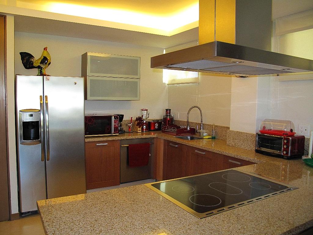 Electrodomésticos cocina Desarrollo Península Golf Condominio en venta, El Tigre, Nuevo Vallarta, Nayarit, México