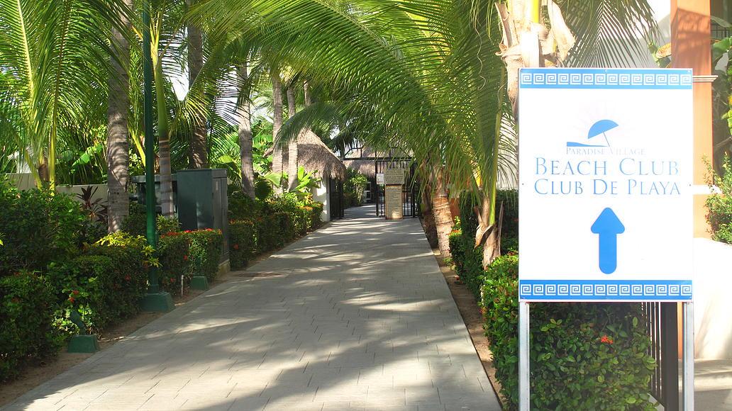 Entrada al Club de playa Desarrollo Playa Royale en Nuevo Vallarta
