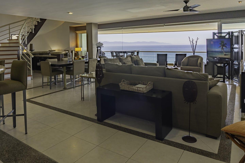 Entry way Beachfront Penthouse Luxury Condo Nuevo Vallarta