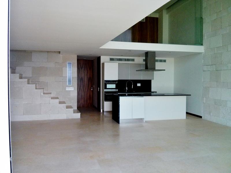 Espacio sala Penthouse en Condominio Península Nuevo Vallarta