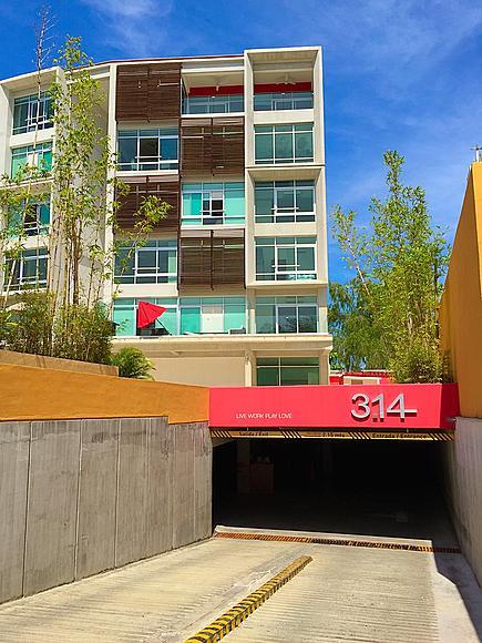 Estacionamiento privado Desarrollo 3.14 Living en Nuevo Vallarta
