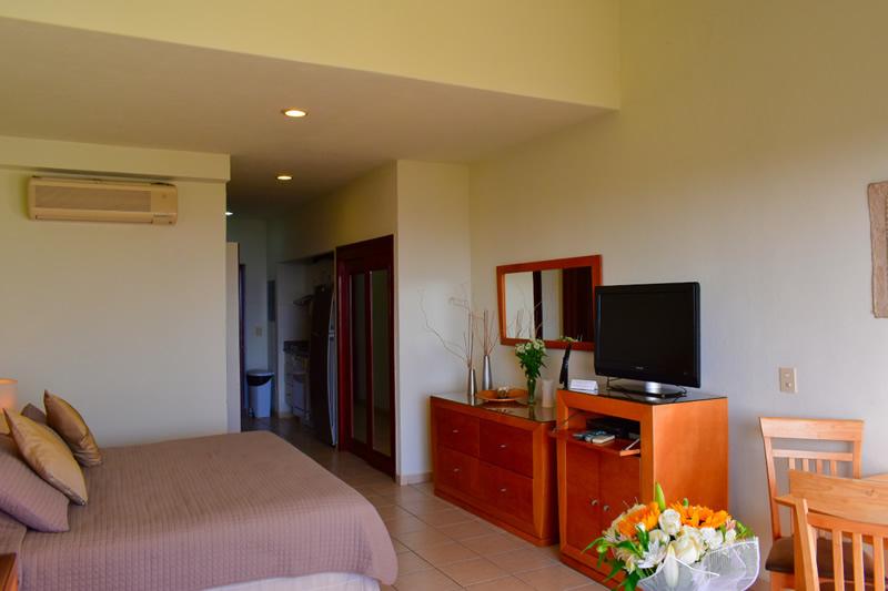 Estudio Condominio Flamingos Beach Resort en venta, Nuevo Vallarta
