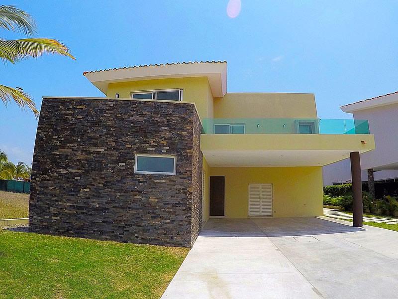 Fachada Casa Vista Lagos Paradise Village El Tigre Nuevo Vallarta Nayarit México