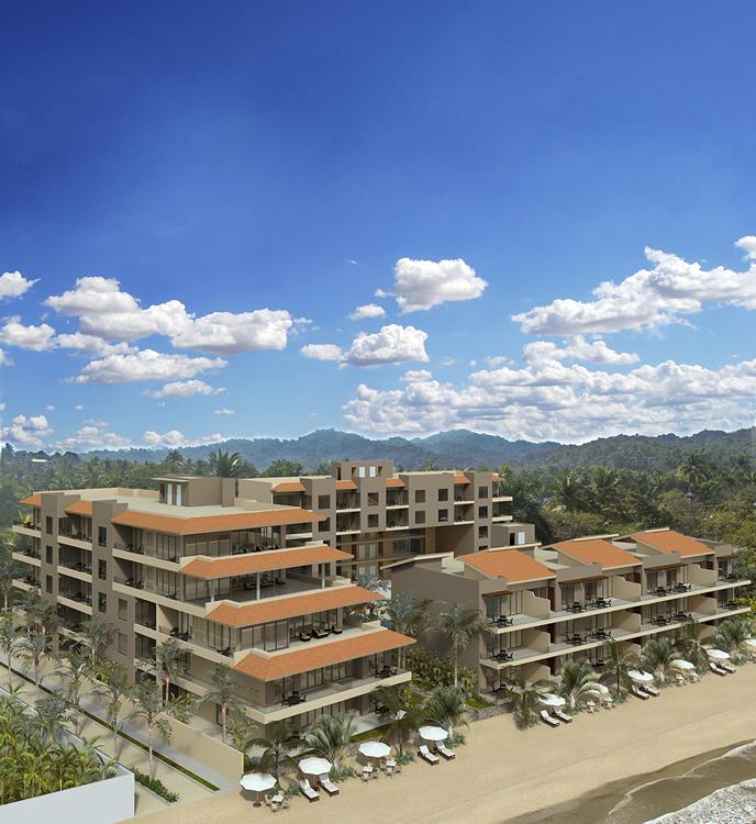Fachada Condominio en venta Punta Paraíso San Pancho Riviera Nayarit
