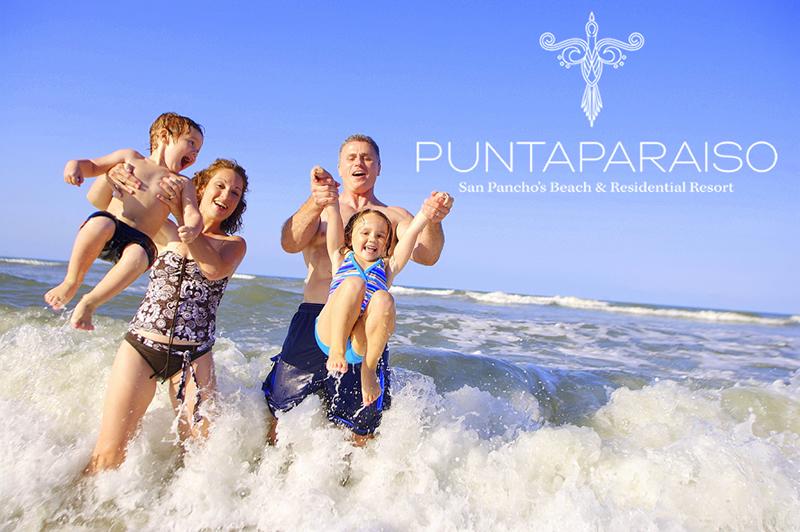 Familia playa Condominio en venta Punta Paraíso San Pancho Riviera Nayarit