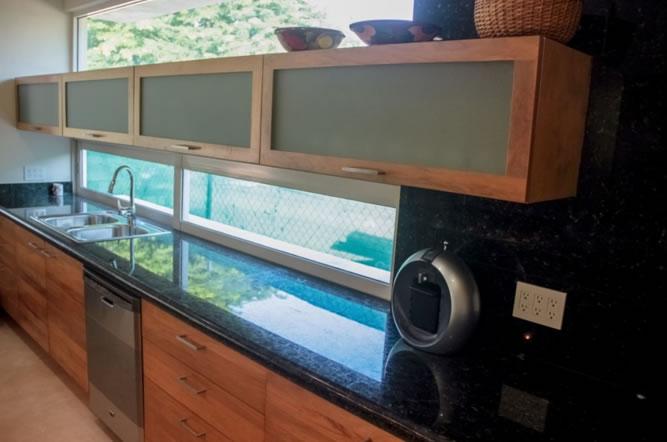 Fregadero cocina Villa Jaguar en Paradise Village Golf y Country Club
