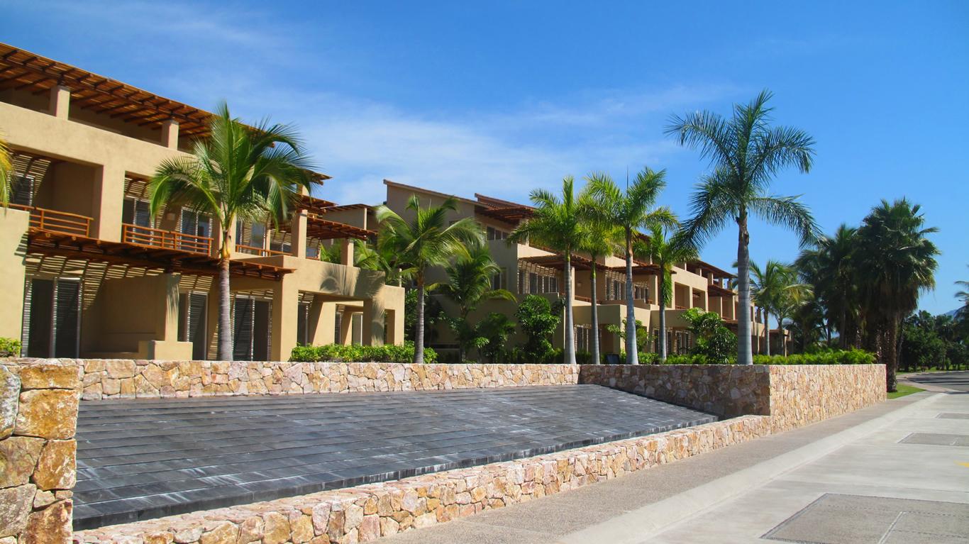 Fuente Desarrollo Isla Palmares en el Tigre Club de Golf en Nuevo Vallarta