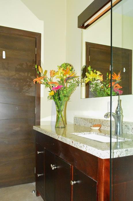Interior Baño Condominio amueblado en venta Living 3.14 Nuevo Vallarta