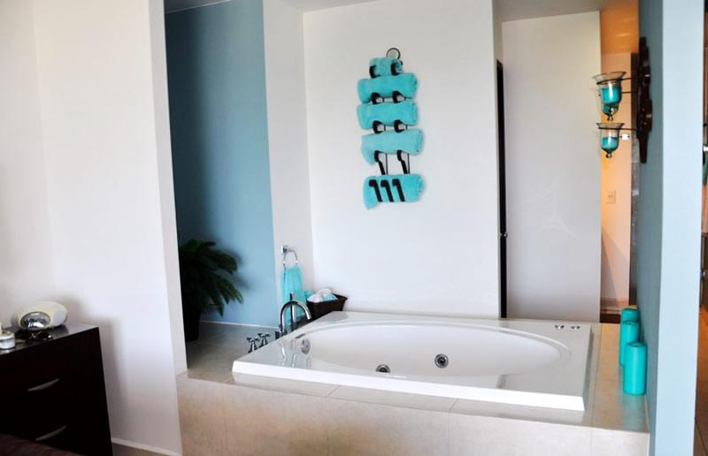 Jacuzzi en baño Condominio Villa Magna Nuevo Vallarta