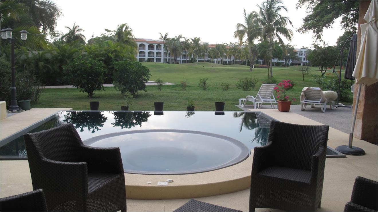 Jacuzzi Villa Jaguar en Paradise Village Golf y Country Club