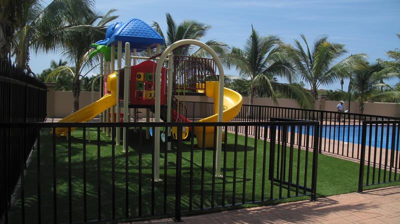 Juegos infantiles Vista Lagos Paradise Village El Tigre Golf & Country Club Nuevo Vallarta