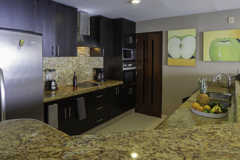 Kitchen Beachfront Penthouse Luxury Condo Nuevo Vallarta