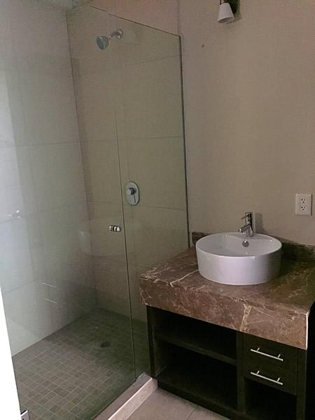 Lavabo Condominio 3.14 Living en Nuevo Vallarta 2 recámaras