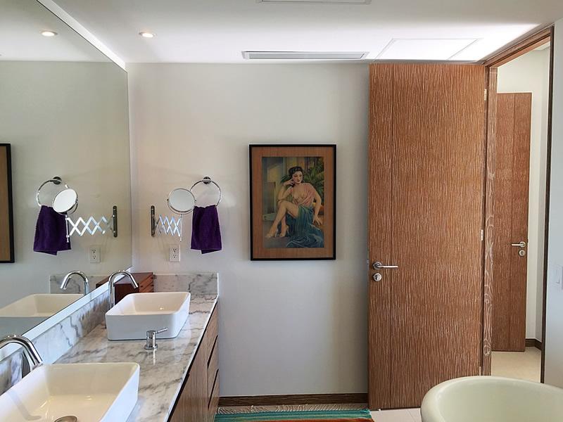 Lavamanos baño Condominio en Venta Península Nuevo Vallarta Nayarit México Desarrollo Habitacional