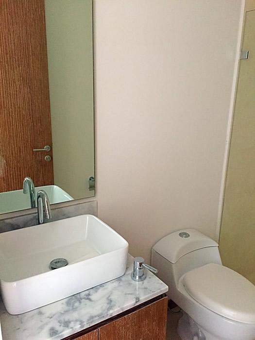 Lavamanos baño penthouse en venta Condominio Península en Nuevo Vallarta Nayarit