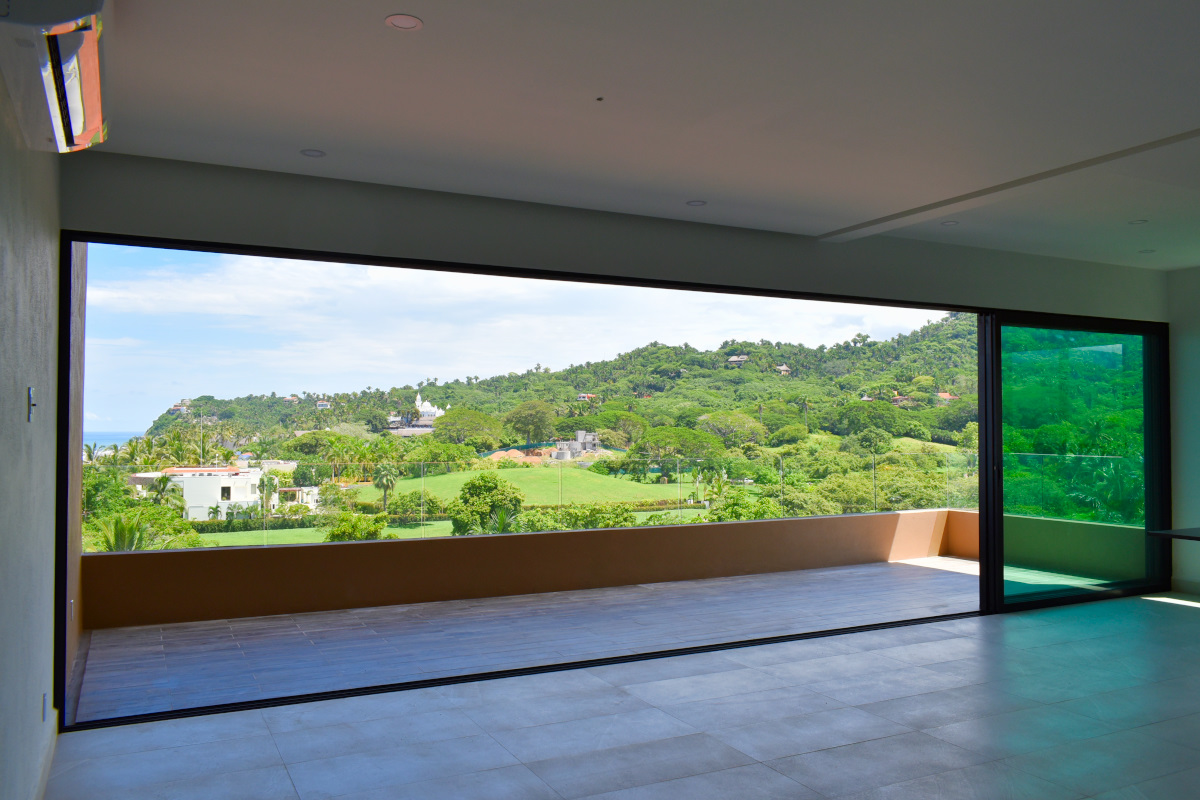 Living Penthouse Frente a la playa San Pancho Nayarit