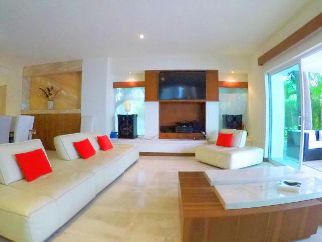 Living room Villa for sale Vallarta Gardens La Cruz de Huanacaxtle
