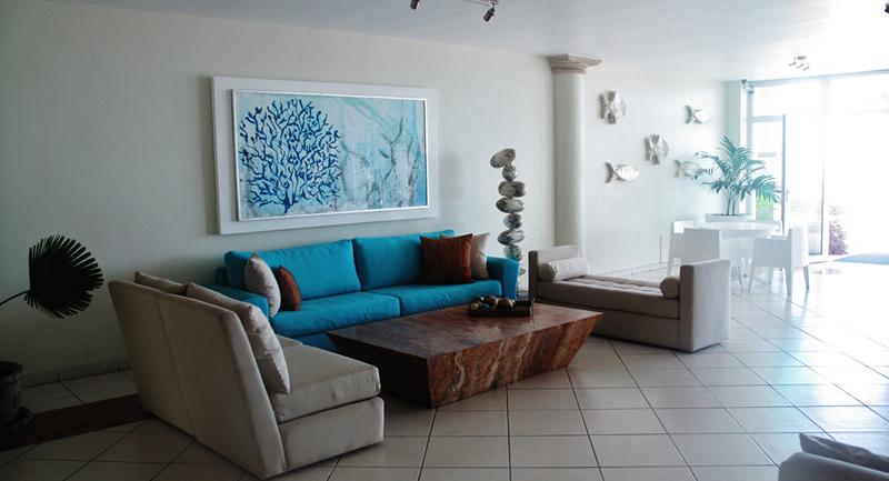 Lobby Seguridad 24 hrs Condominio Playa Vista Residences en Nuevo Vallarta
