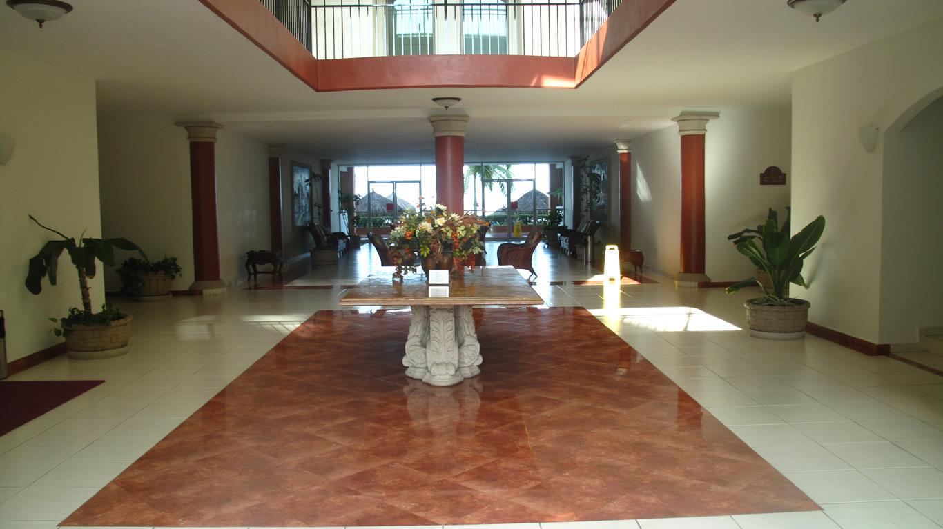 Lobby Desarrollo Playa Royale en Nuevo Vallarta