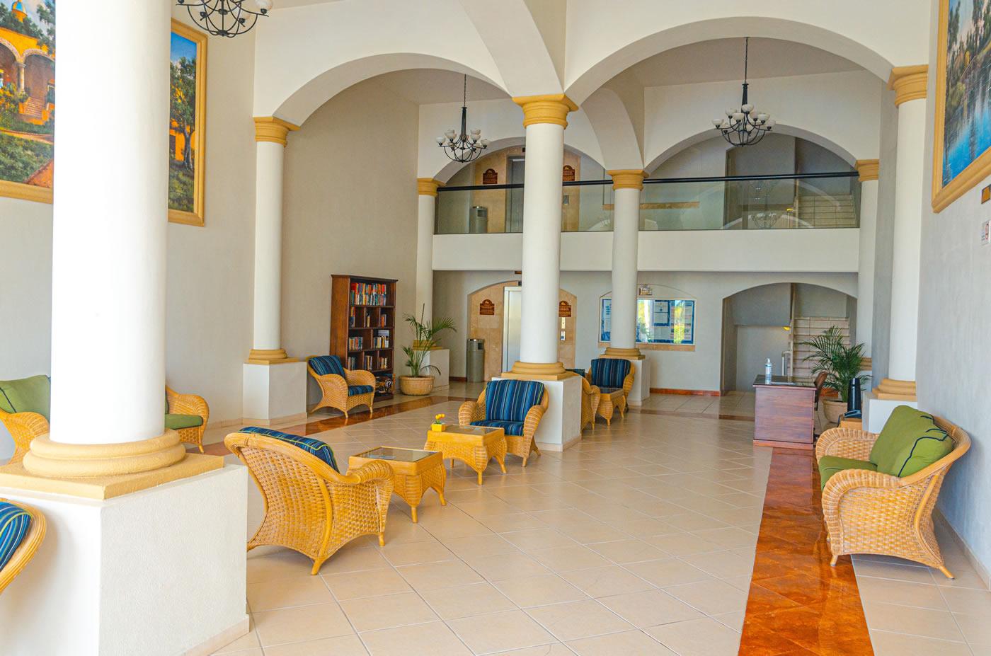 Lobby Grand Marina Villas Nuevo Vallarta