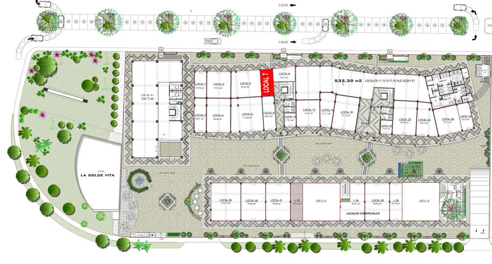Mapa Local comercial en venta Plaza 3.14 Living Nuevo Vallarta
